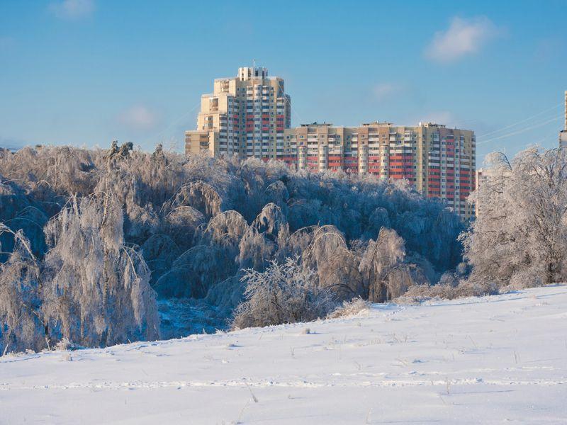 Das russische Dorf Oimjakon misst -50 Grad im Winter
