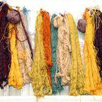 Seidenfäden zum Teppichknüpfen