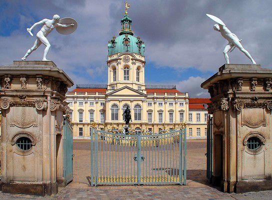 Schloss Charlottenburg Hauptportal