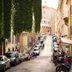 Straße in der Altstadt von Rom