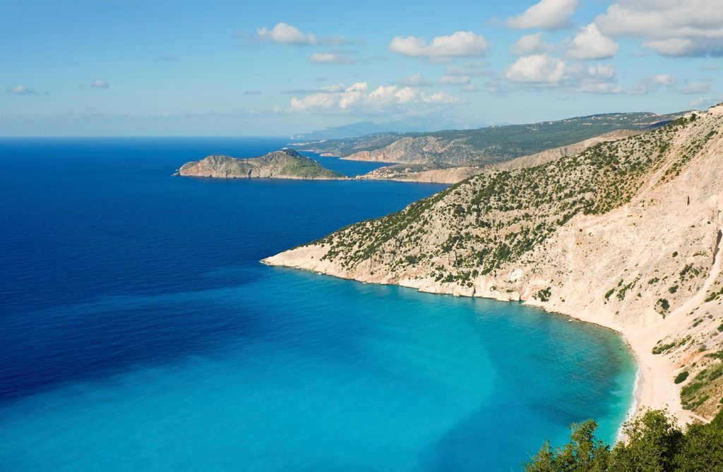 Bucht auf Zakinthos