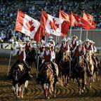 Reiter bei Calgary Stampede