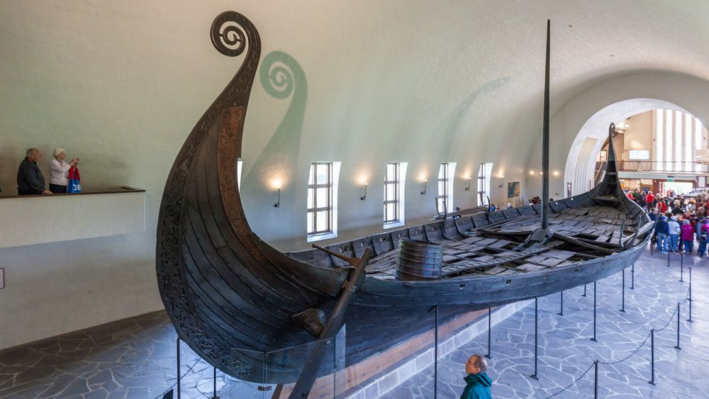 Das Wikingerschiffsmuseum in Oslo