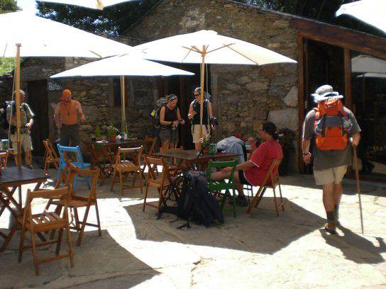 Fernweh Café Bar auf dem Jakobsweg