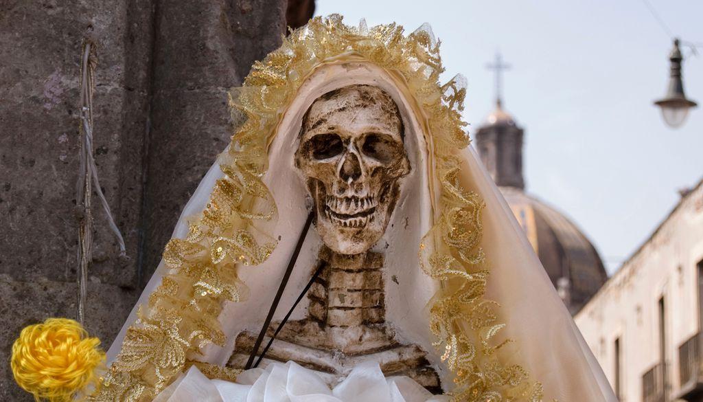 Mexikanischer Brauch: Die Toten werden verehrt.