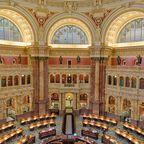 Lesesaal der Library of Congress