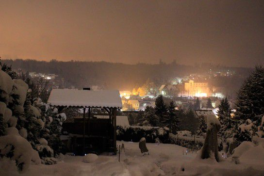 Ludweiler by night