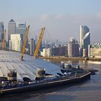Die O2 Arena in Canary Wharf