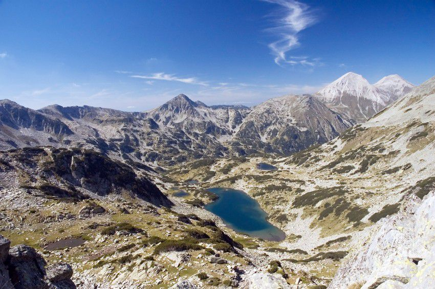 Gletschersee im Pirin Nationalpark