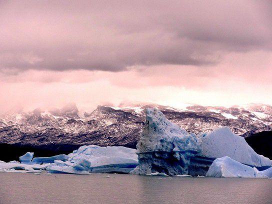 Gletscher, El Calafate, Argentinien