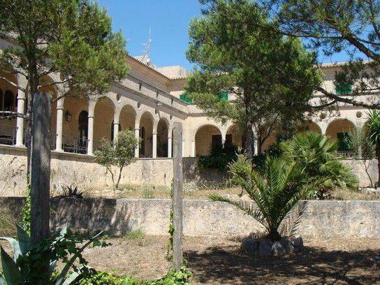 Einsames restaurant mitten auf Mallorca