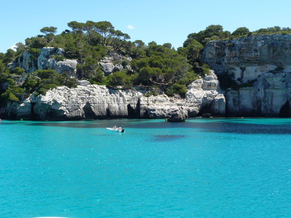 Bucht auf Menorca