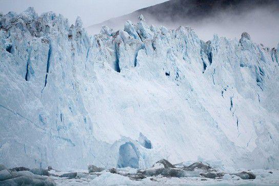 Tor aus Eis - EQI Gletscher