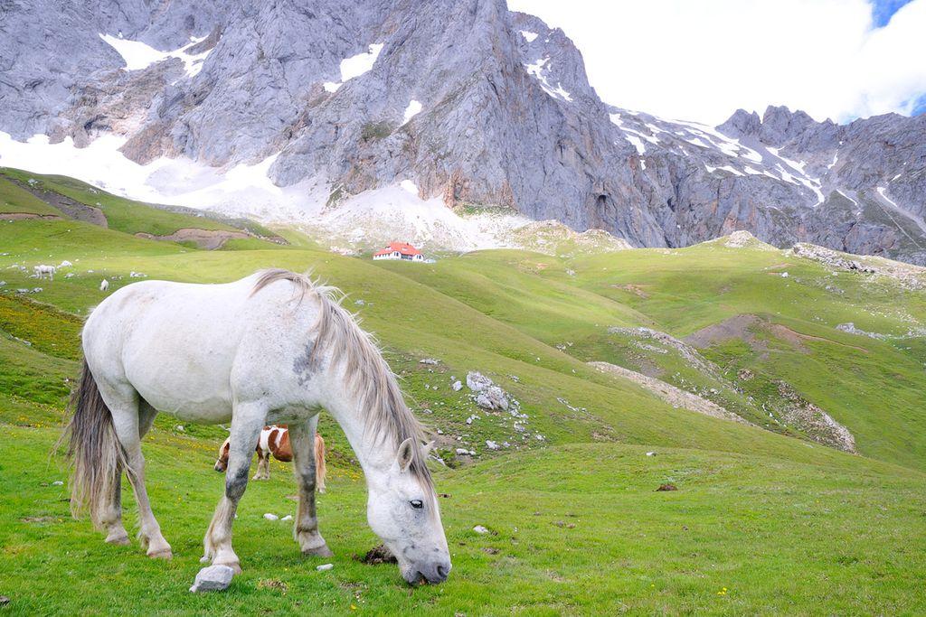 """Die Berge der """"Picos de Europa"""" in Nordspanien bieten spektakuläre Ausblicke"""