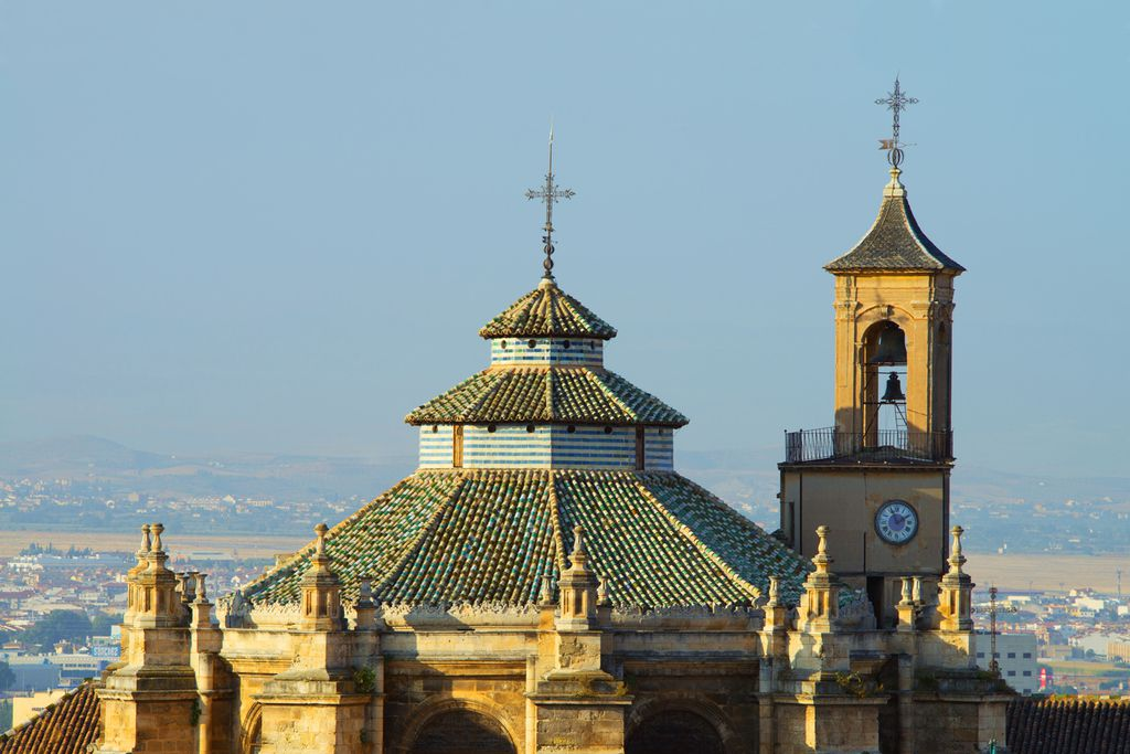 Dächer der Kathedrale von Granada