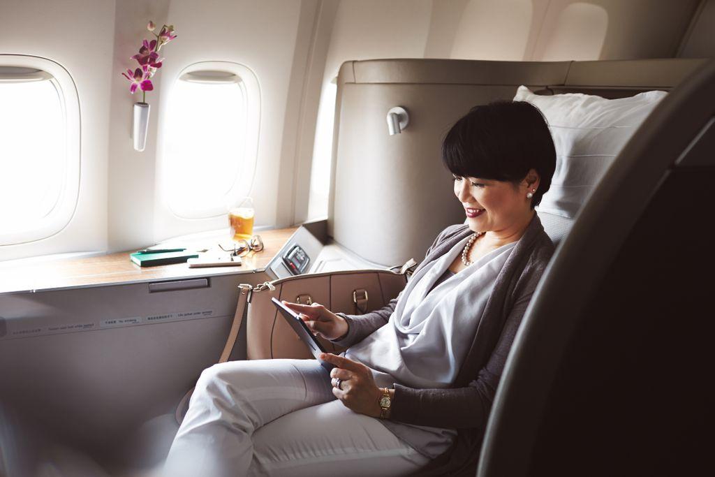 Die 10 besten Airlines 2018, 6. Platz: Cathay Pacific