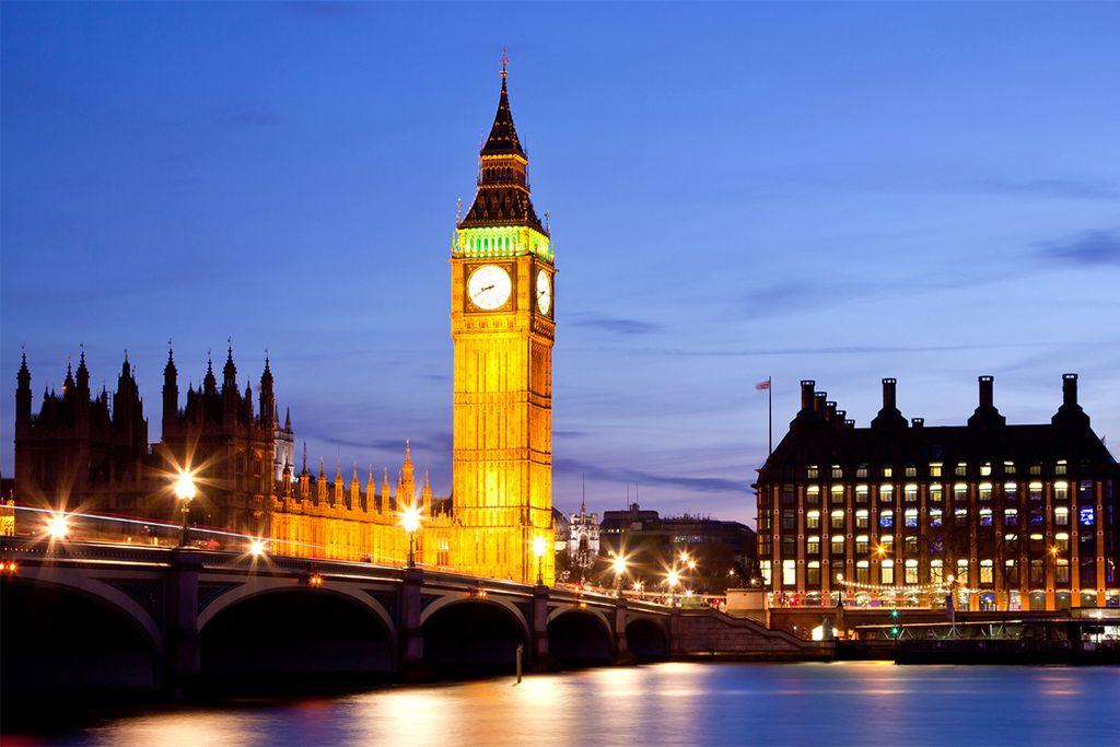 Zur Blumenschau im Mai nach London