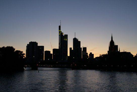 Frankfurts Skyline