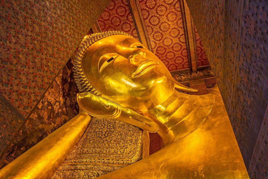 Liegender Buddha im Wat Pho