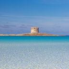 Strand und Turm La Pelosa