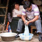 Waschtag in Südchina