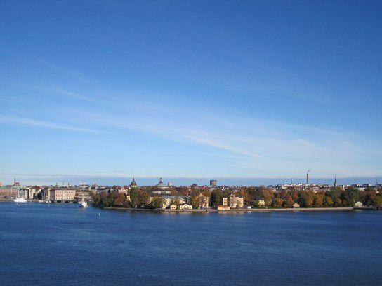 Skeppsholmen von der Fjällgatan