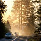 Autofahrt mit Wow-Effekten