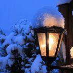 Schnee-Laterne