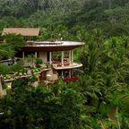 Hotel mitten im Dschungel