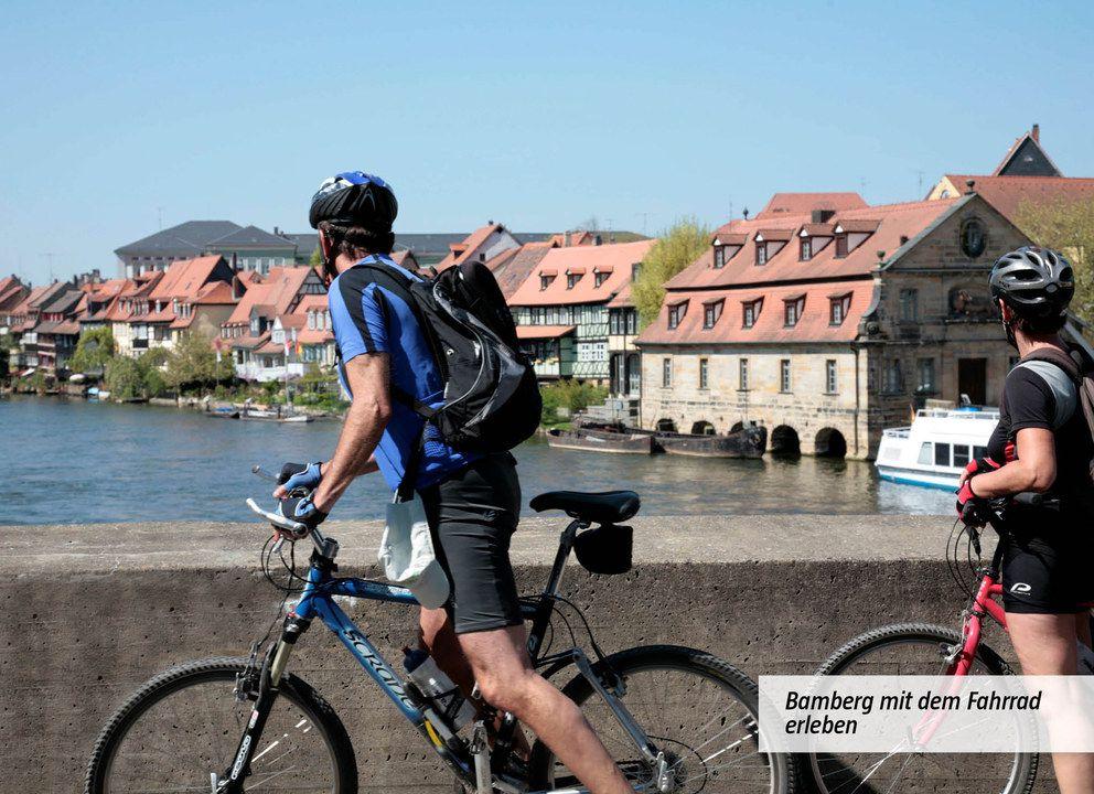 Bamberg mit dem Fahrrad erleben