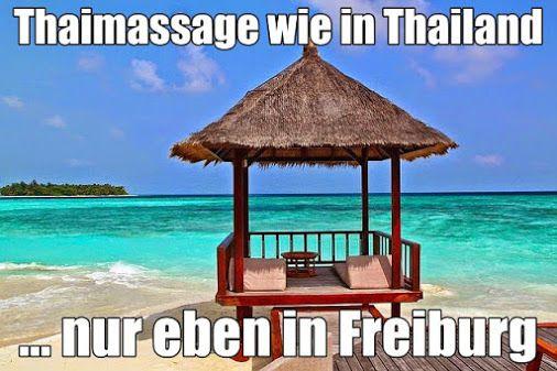 Das Firmenmotto der Freiburger Thaimassage Herdern, Hauptstrasse 76