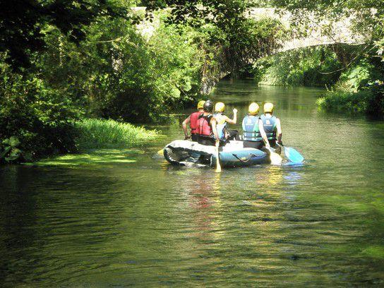 Umbrien - Rafting auf dem Sordo
