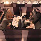 First-Class-Luxus für die Business Class bei Qatar Airways