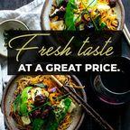 Fresh Tasty Food In Top Thai Restaurant