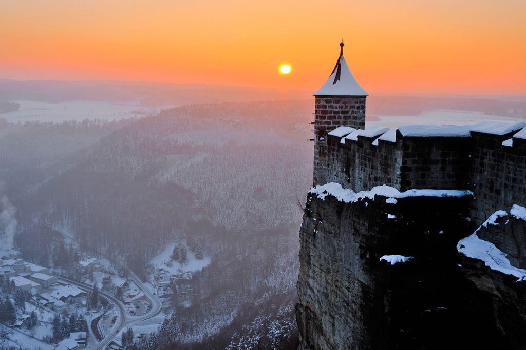 Festung Königstein: Der längste Adventskalender Deutschlands