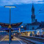 Konstanz ist gut per Bahn an das Umland angebunden.