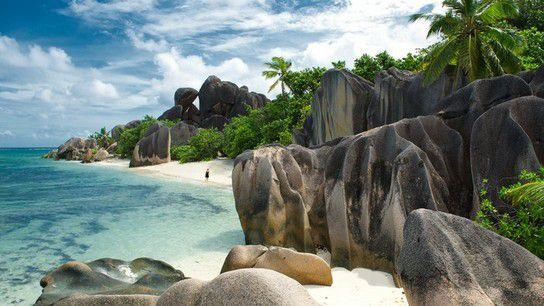 Anse Source D´Argent Strand, La Digue Seychellen