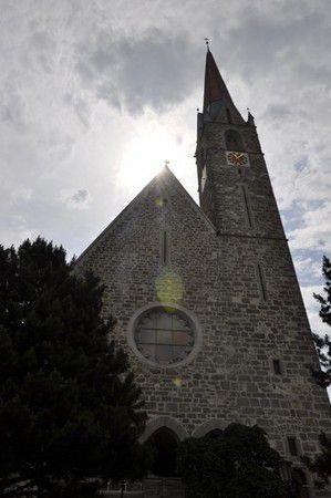 Sonne trifft Kreuz
