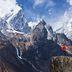 Trekking-Touristen werden in Nepal registriert