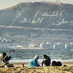Marokkanische Strandidylle in Agadir