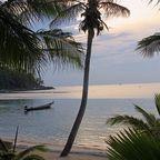 Sonnenuntergang auf Ko Phagan