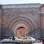 Marrakesch Stadttor Bab Aganaou