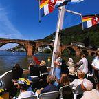 Ausflugsfahrt auf dem Neckar