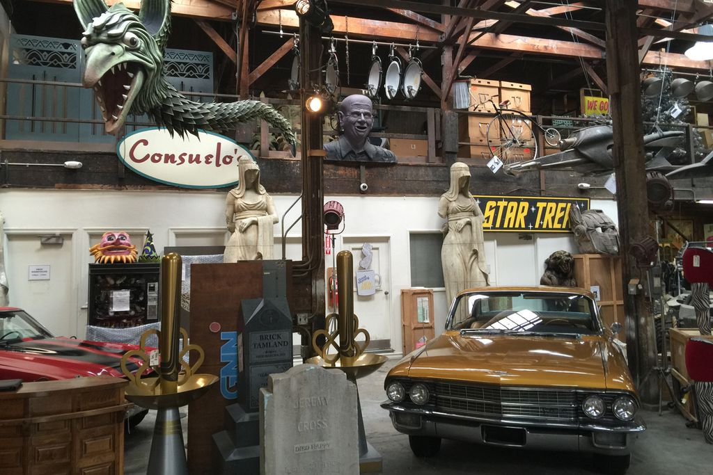Filmrequisiten der Paramount Pictures Studios