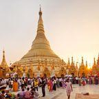 Buddhistische Pilger