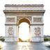 Frühling in Paris: Arc de Triomphe
