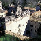 Auf Mallorca liegt das Kloster Luc, ein wunderschöner Wallfahrtsort.