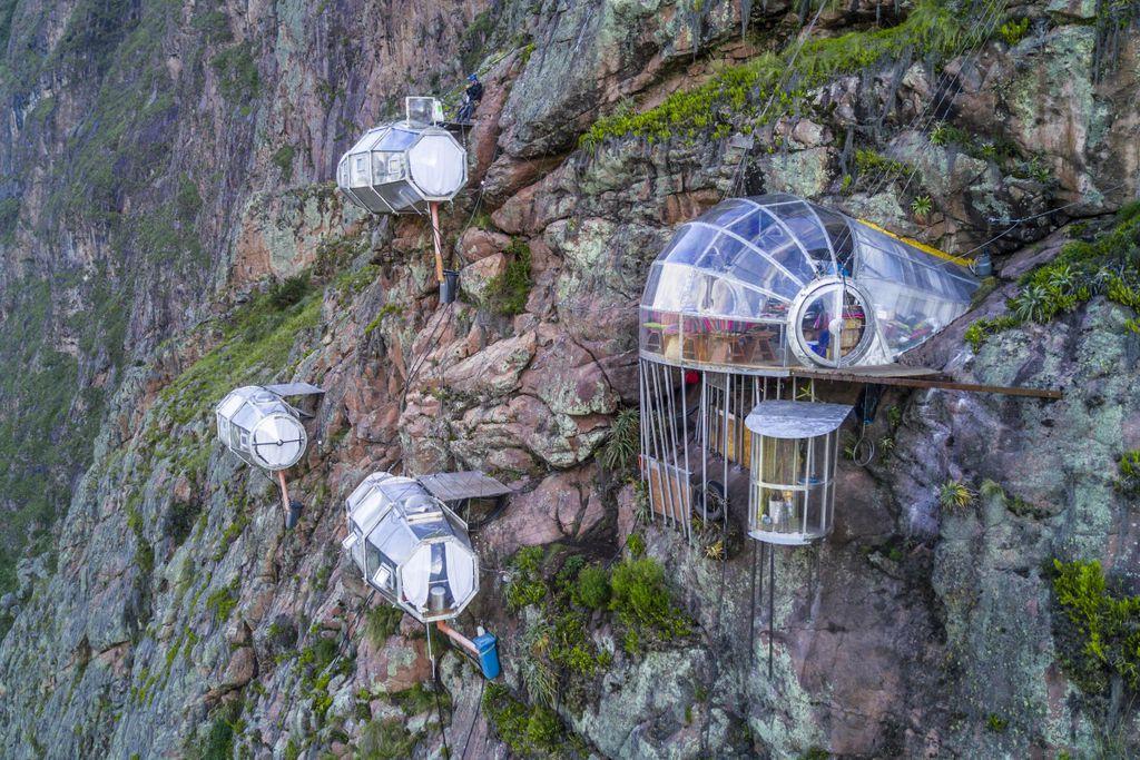 Dieses Hotel wurde aus Raumfahrtmaterialien gebaut