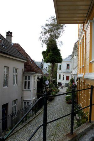 Stadtansichten Bergen