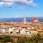 Aussicht auf Florenz